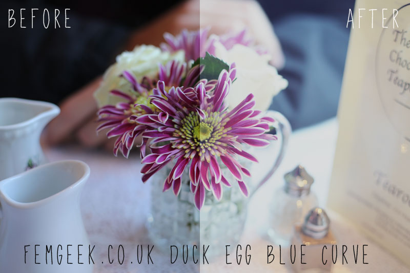 Duck Egg Blue Curve