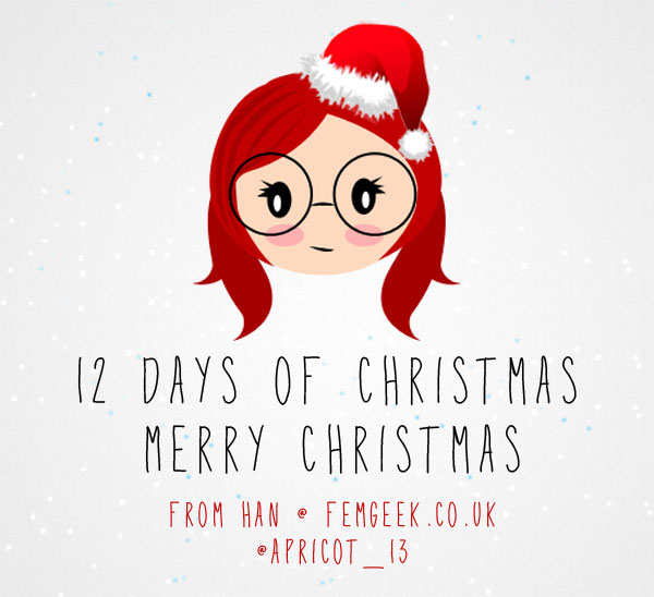 12 Days of Femgeek Christmas